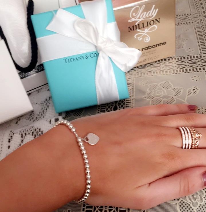 Tiffany bracelet silver heart