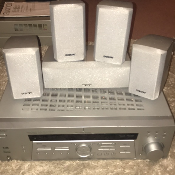 Sony Dolby digital amplifier