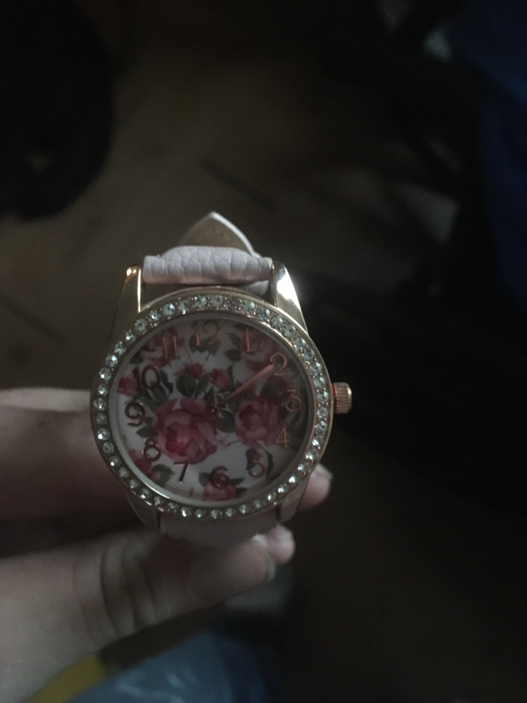 Brand new watch custom made with Diamonds