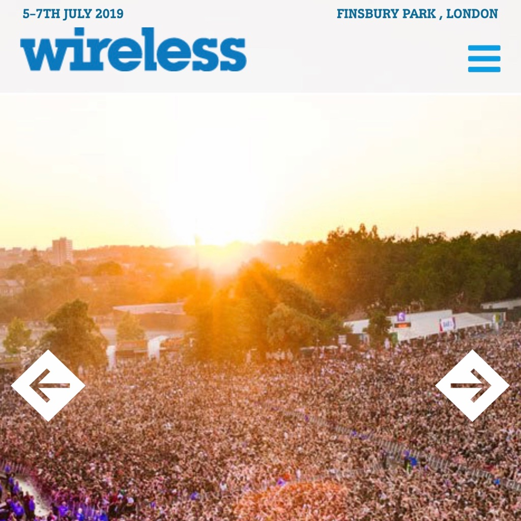 WIRELESS FESTIVAL TICKETS 2019