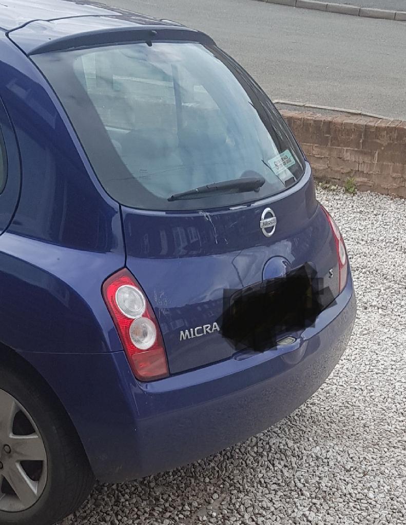 2004 Nissan Micra