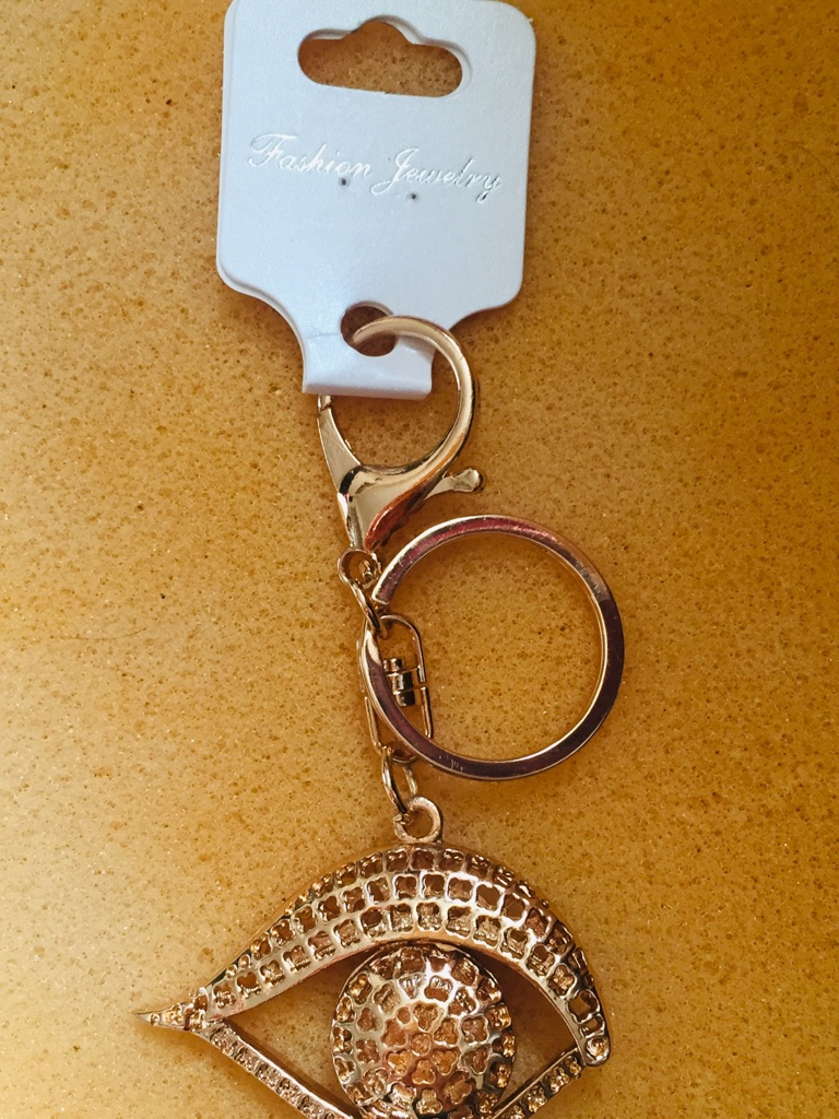 Keys ring holder with eye..