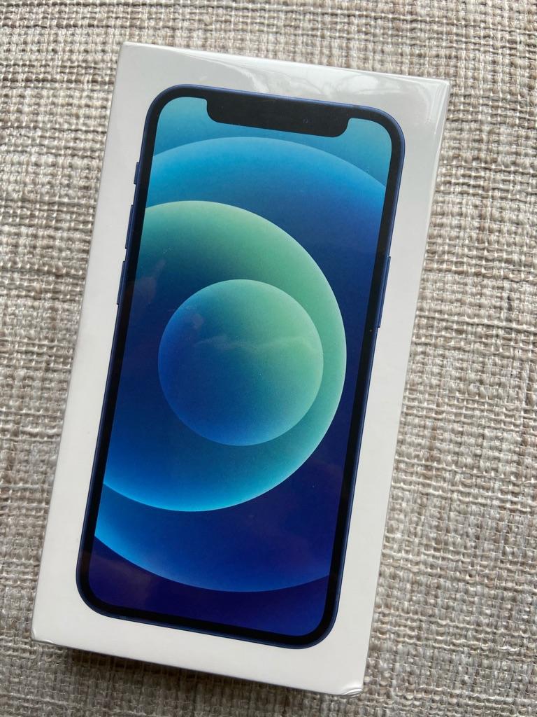 Brand New iPhone 12 Mini, 64GB, Blue (EE)