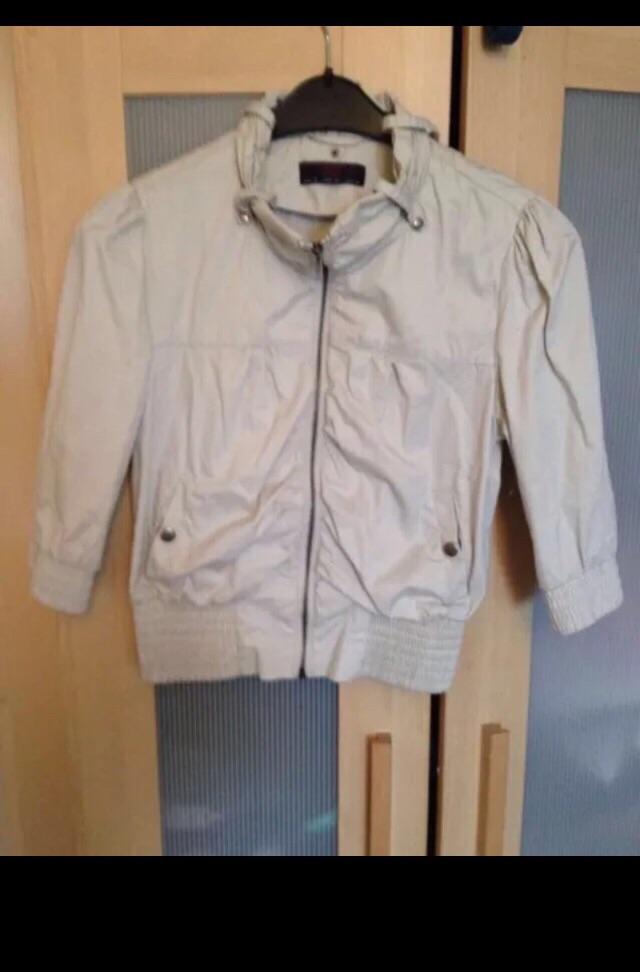 Beige jacket from New Look