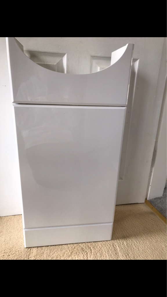 Toilet cabinet for basin sink