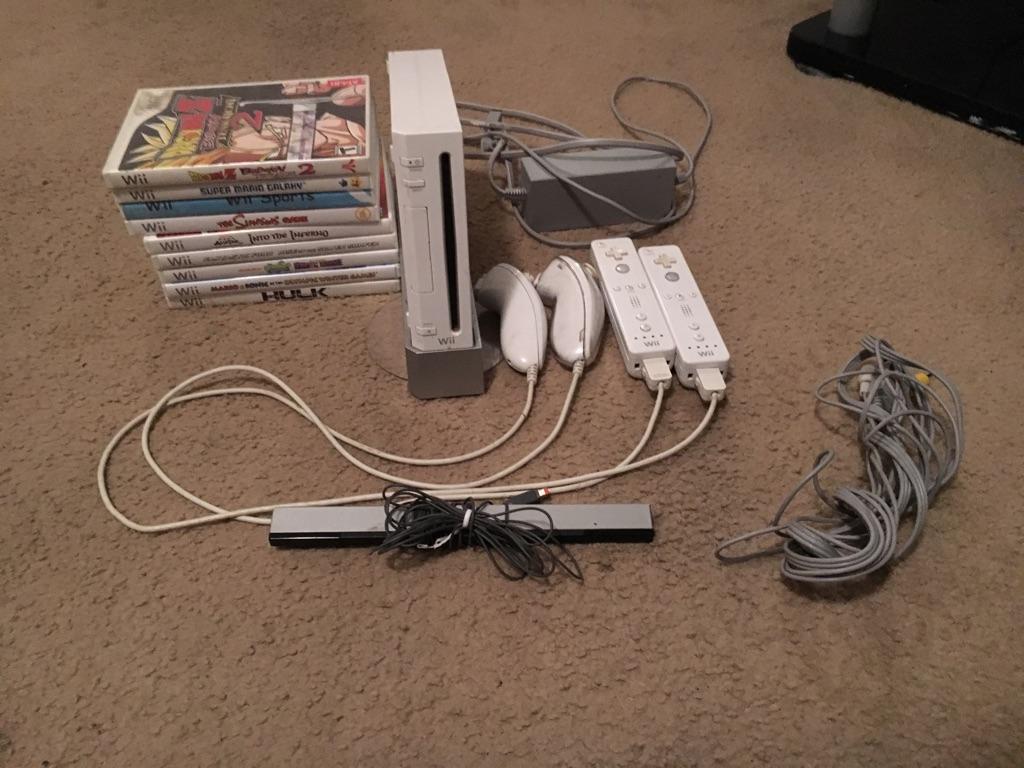 Nintendo Wii- White 500GB