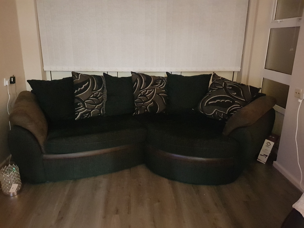 Couch and Swivel chair