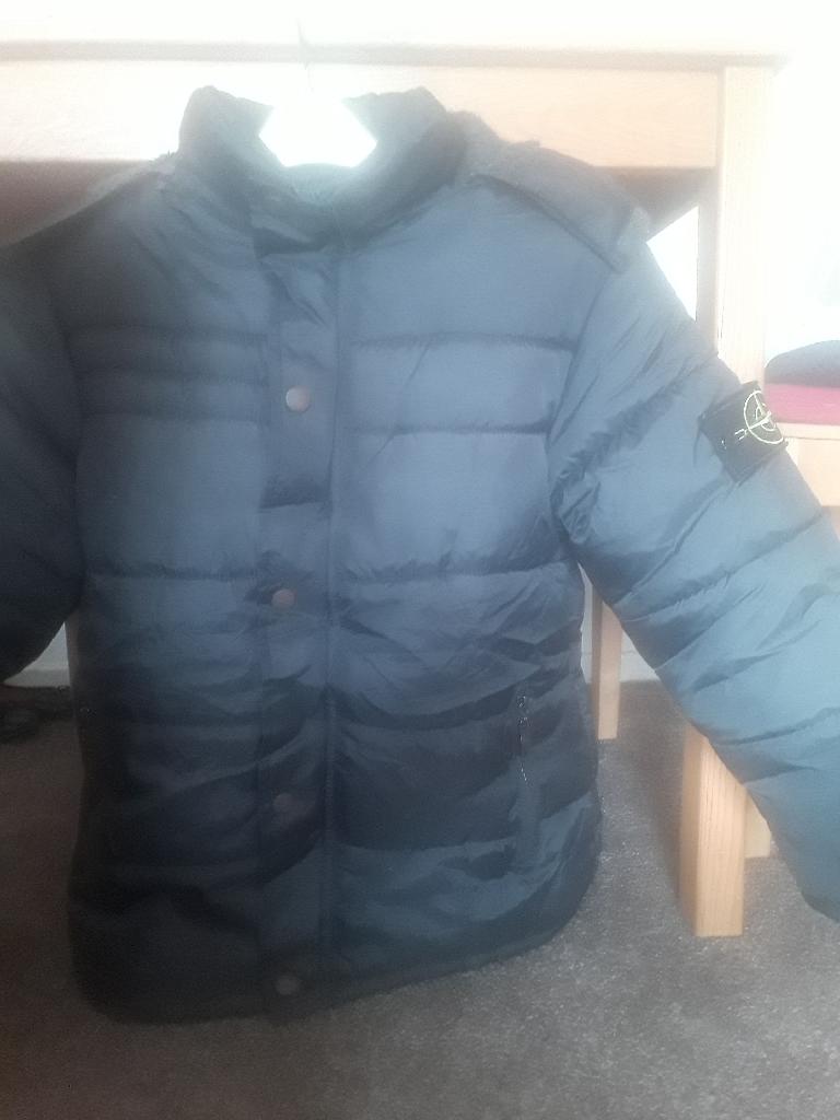 Boys stone island coat