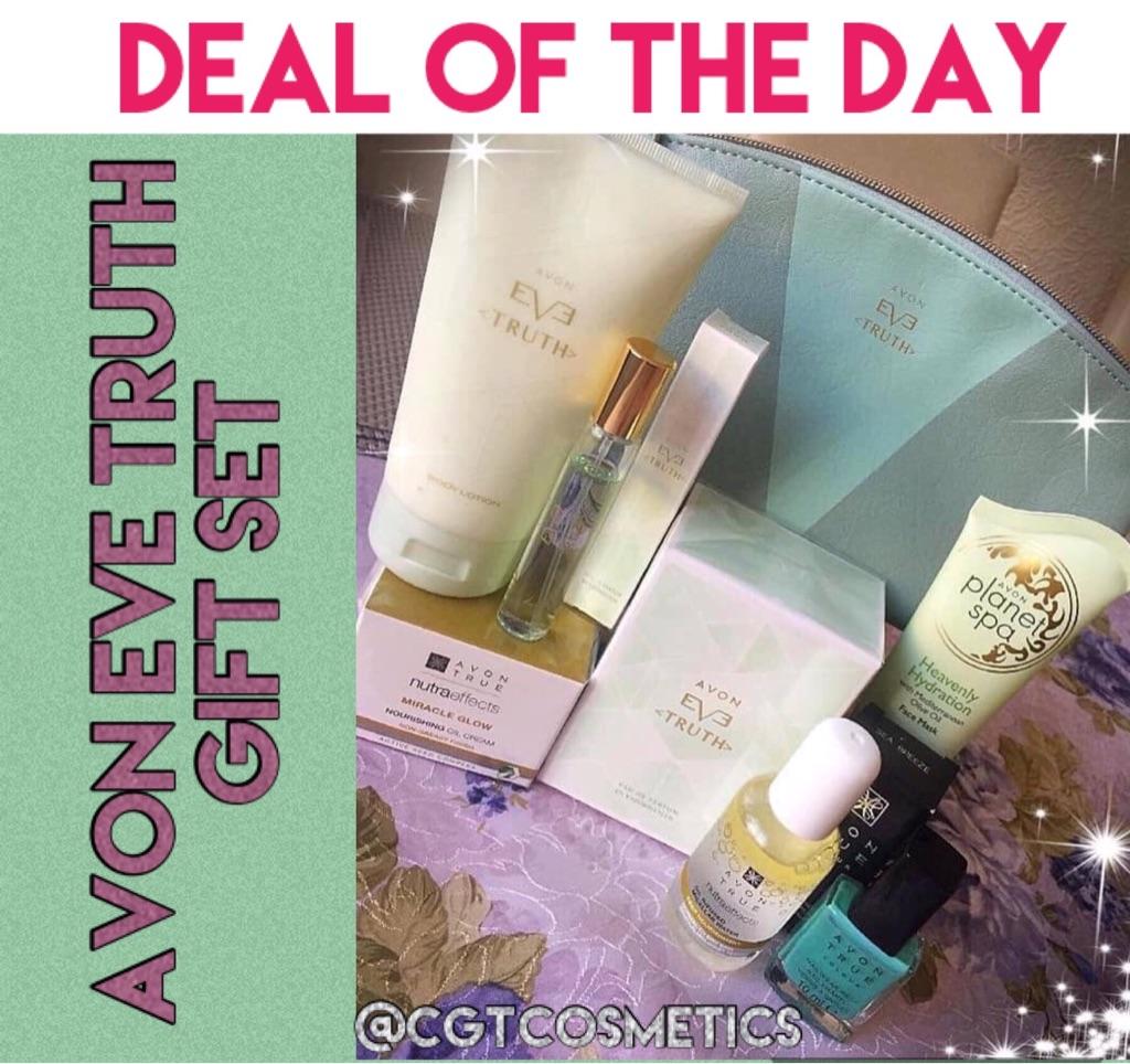 Avon Eve Truth Perfume plus free gifts worth £32.25!!!