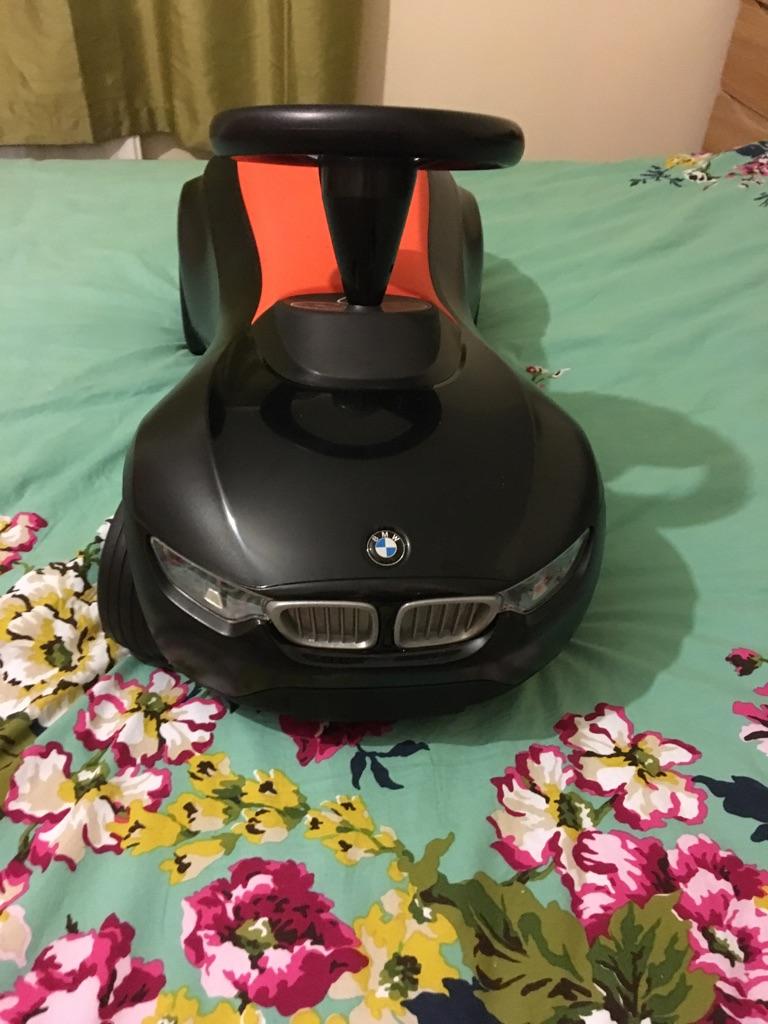 BMW sit on car