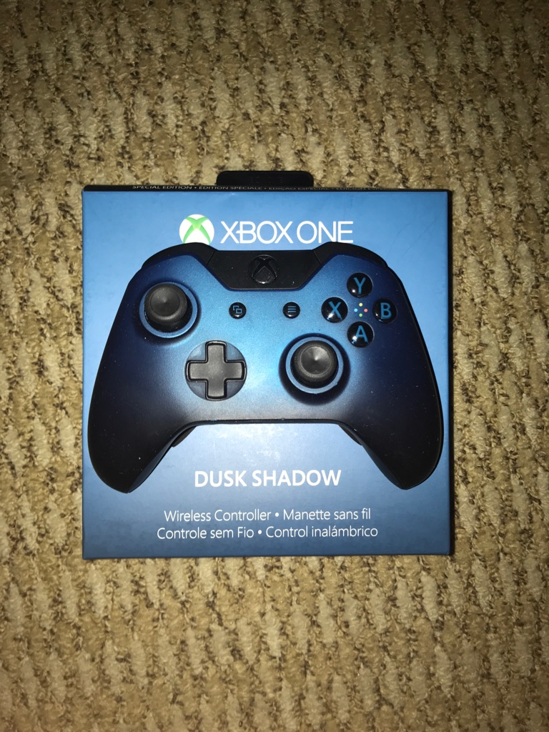 Xbox One Special Edition Dusk Shadow Controller
