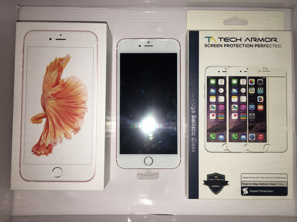 Apple iPhone 6S Plus Rose Gold AT&T 64GB Unlocked