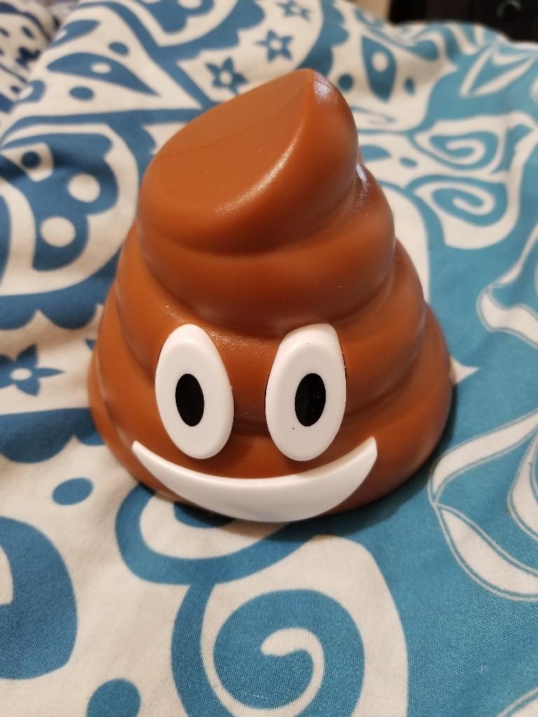 Poop emoji speaker