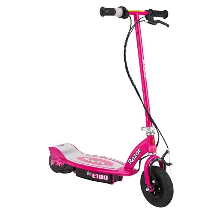 Razor pink children's electric scooter