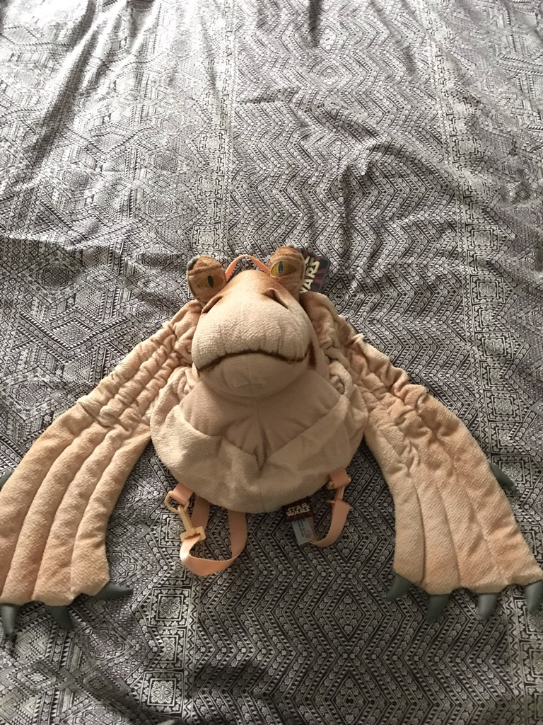 Jar Jar binks bnwt backpack