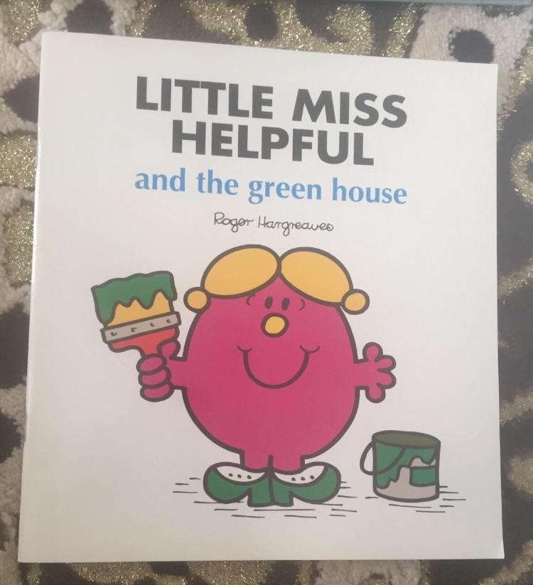 Little miss helpful book