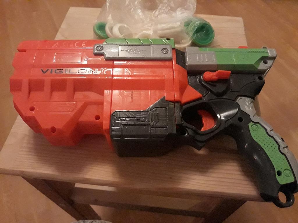 Nerf Vigilon Disc gun