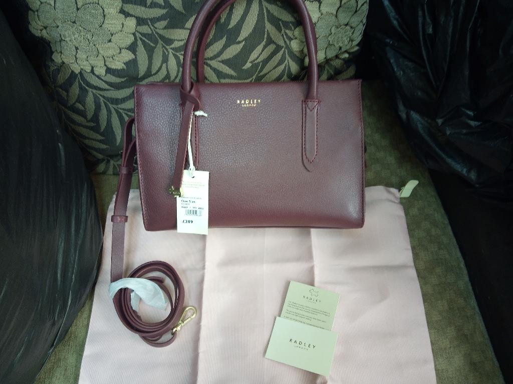 Brand new Radley london leather handbag