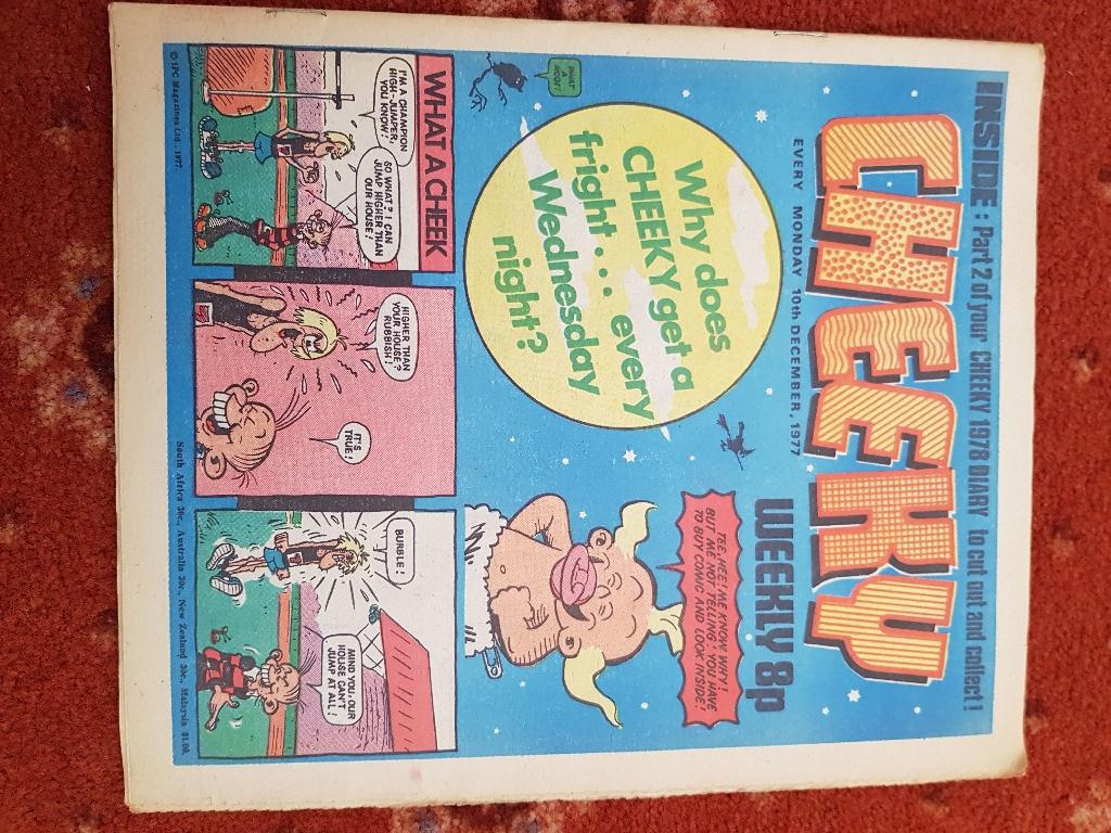 Various 1970's comics
