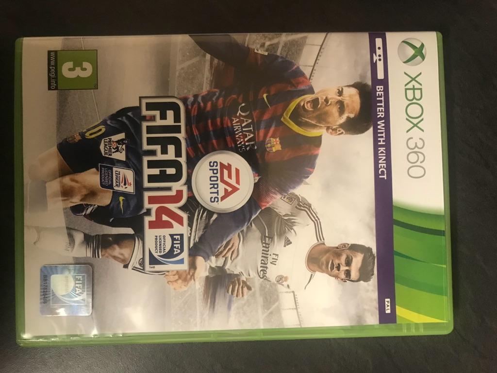 Fifa 14 Xbox 360 game