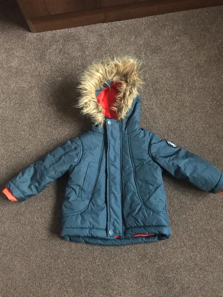 Ben Sherman baby winter coat 12 months