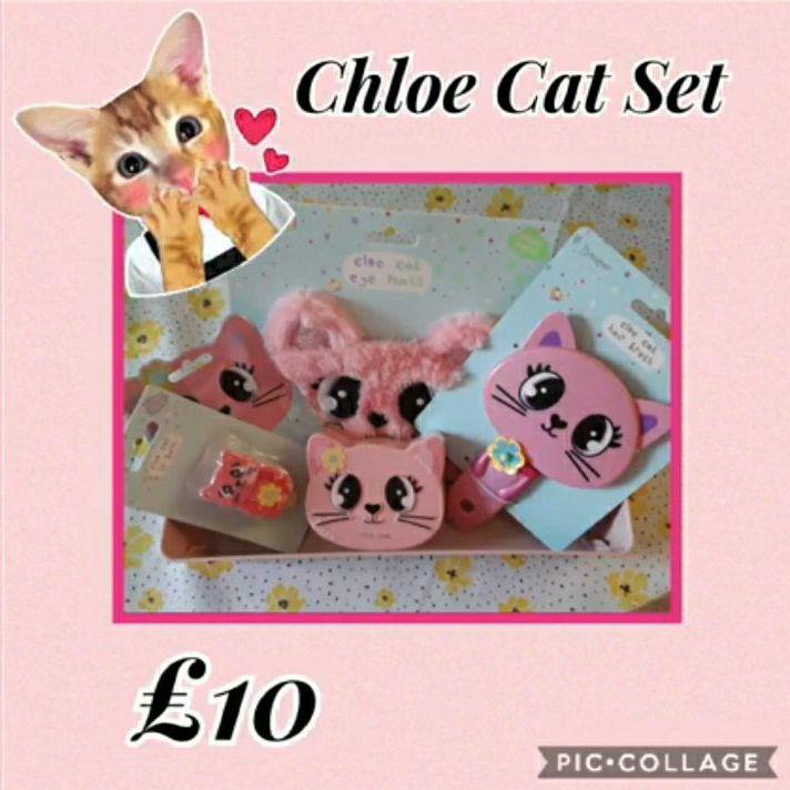 Chloe Cat Gift Set