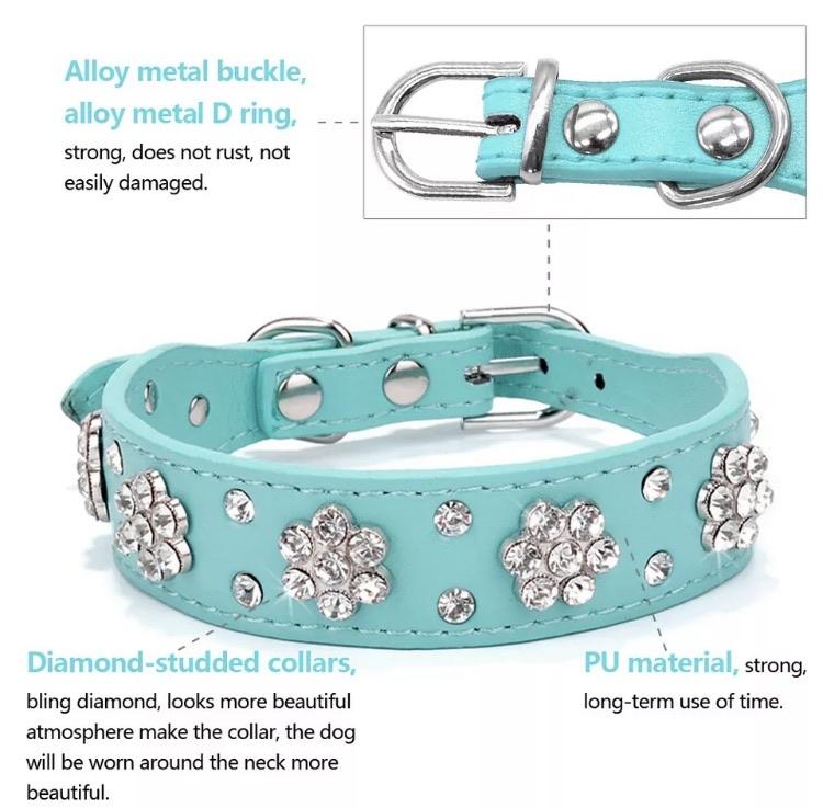Bling dog collar