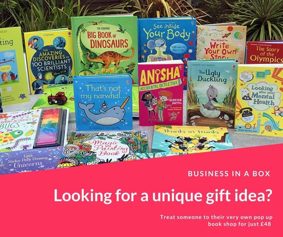 Your Very Own Online Pop Up Book Shop!