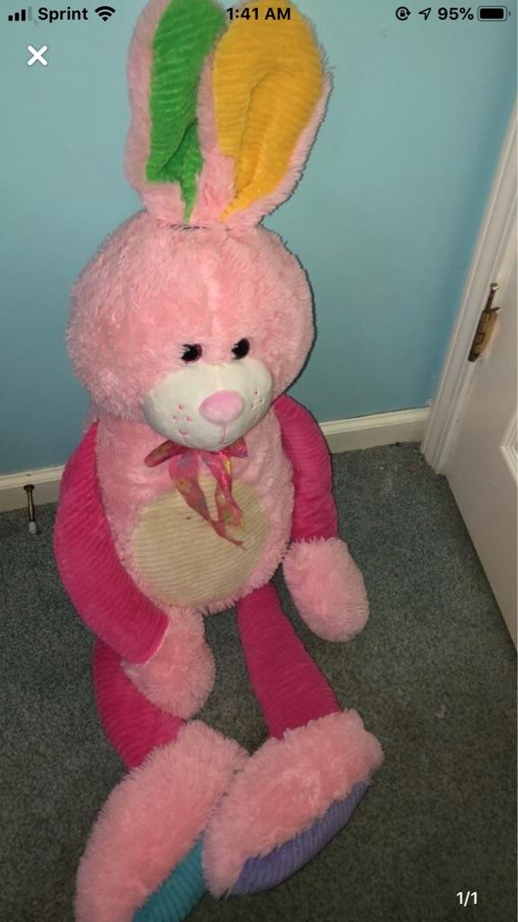 Giant bunny plush