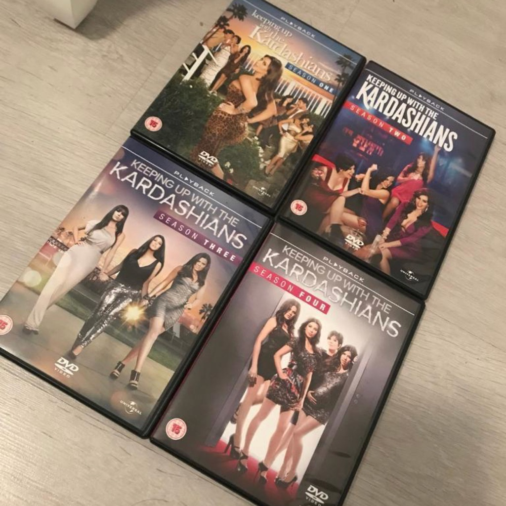 Keeping up with the Kardashian's boxset