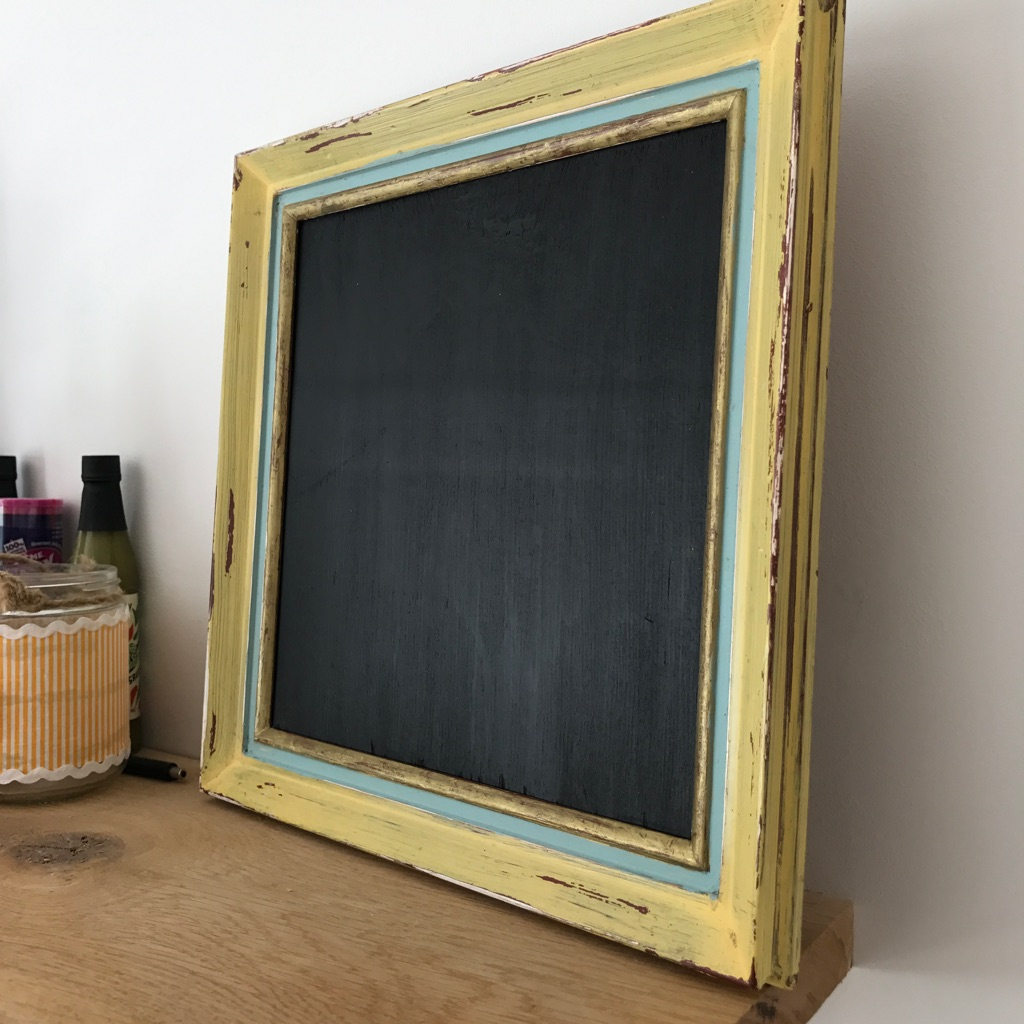 Vintage up-cycled chalk board