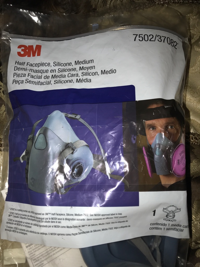 Brand new face mask in package. Several for sale