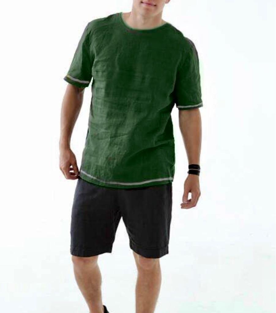 Antonio Miró Men's Linen T-shirt