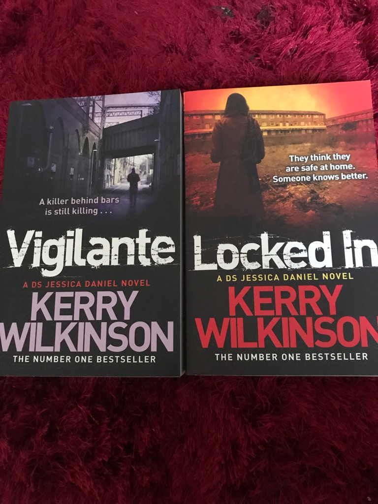 Pair of books by Kerry Wilkinson