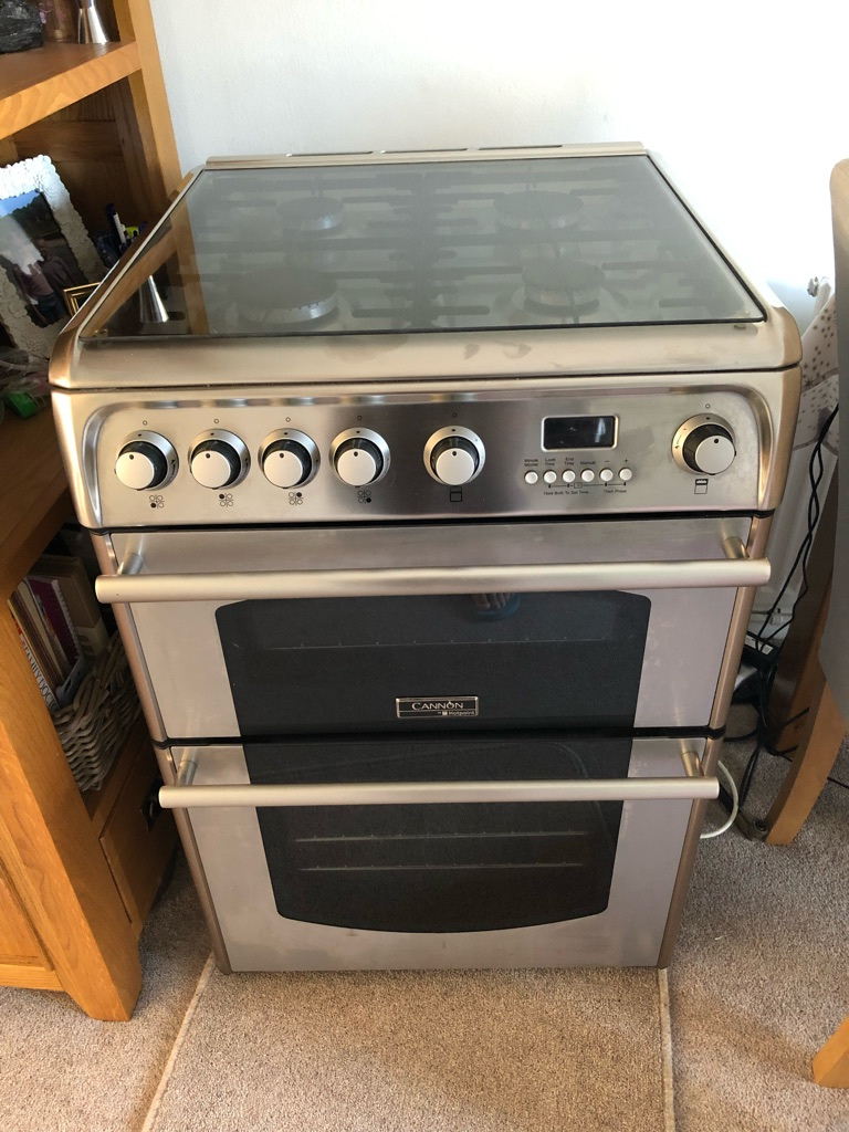 Hotpoint Cannon Double Gas Cooker