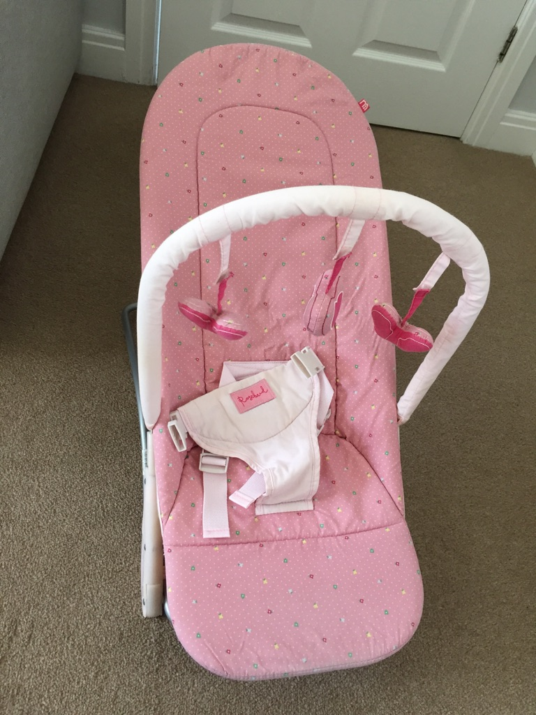Pink Bouncing Chair