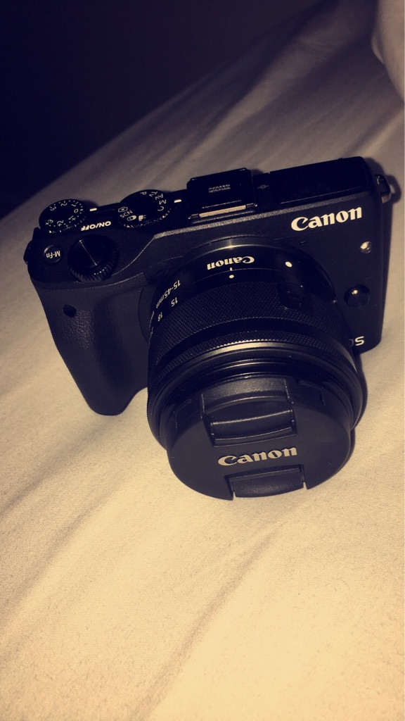 Brand New Canon EOS M3 With Lens