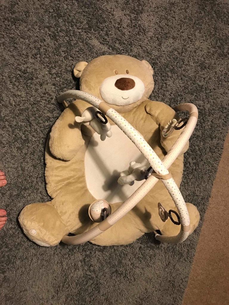 Mother care teddy bear playmat