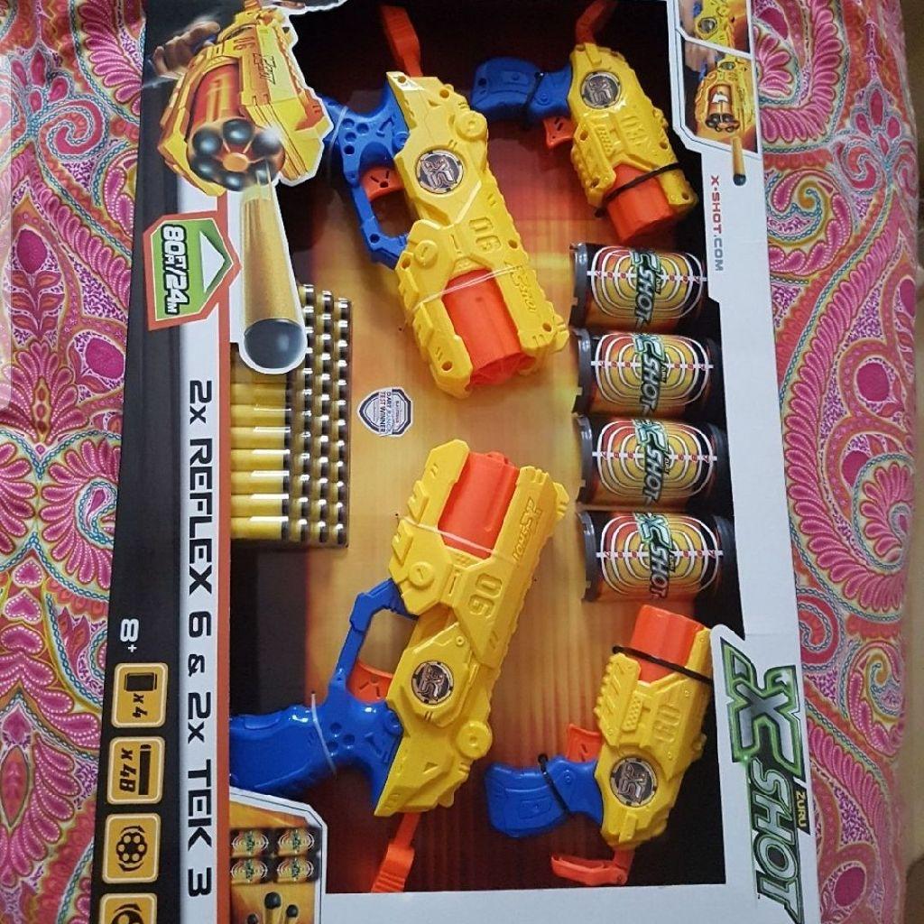 Nerf guns play set
