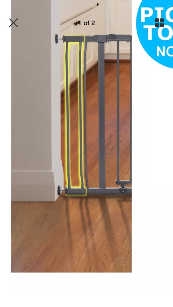 Baby gate extension new