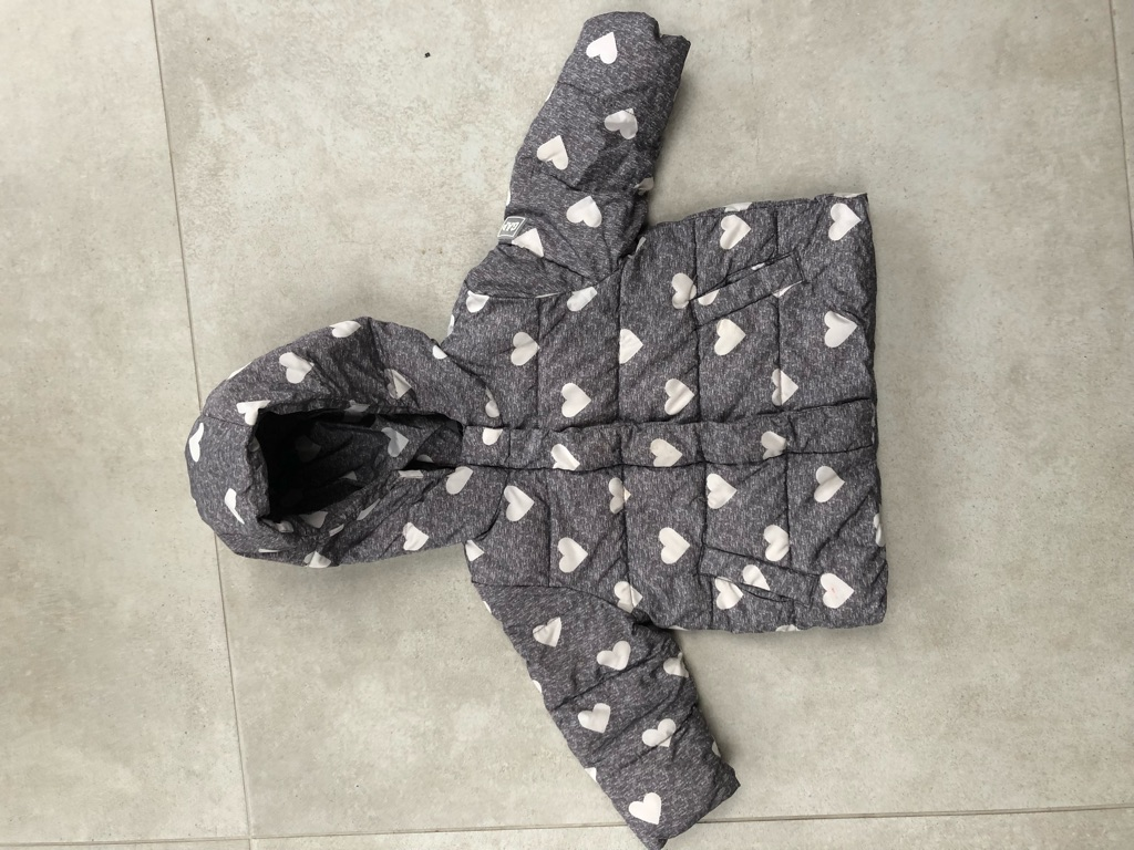 Gap girl winter jacket, 18-24 months