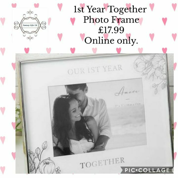 1st Year Together Photo Frame