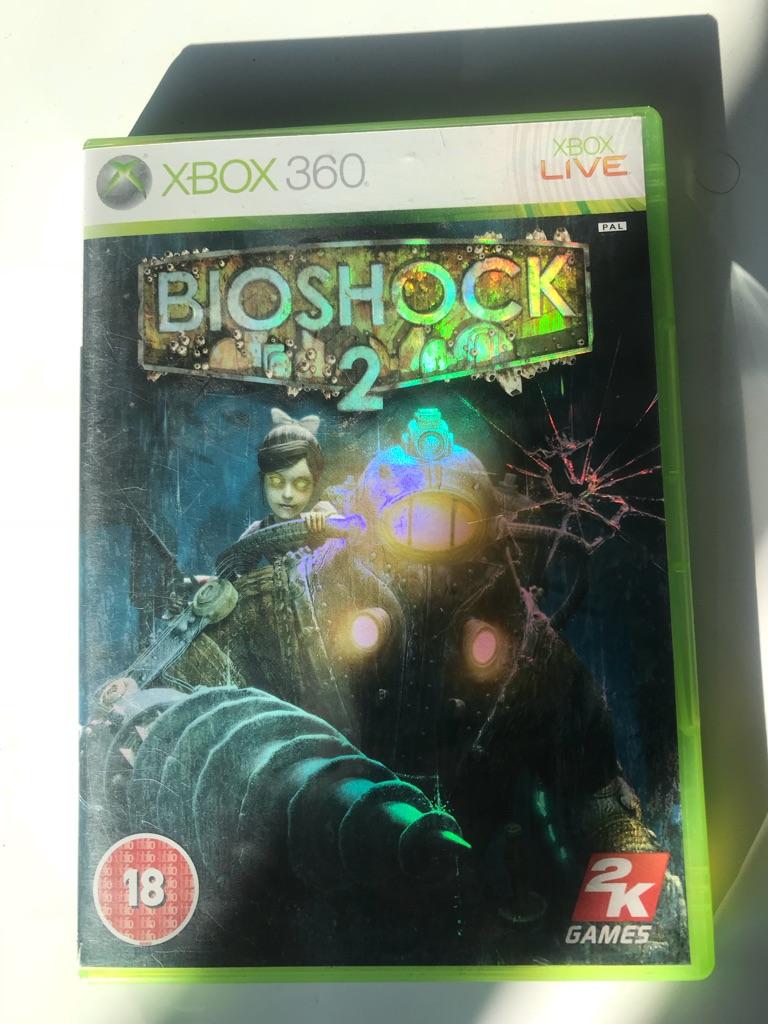 Bioshock 2 Xbox 360 game