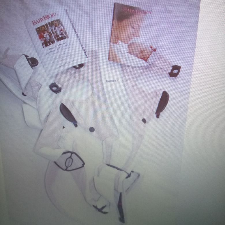 Like new BABY BJORN air carrier.