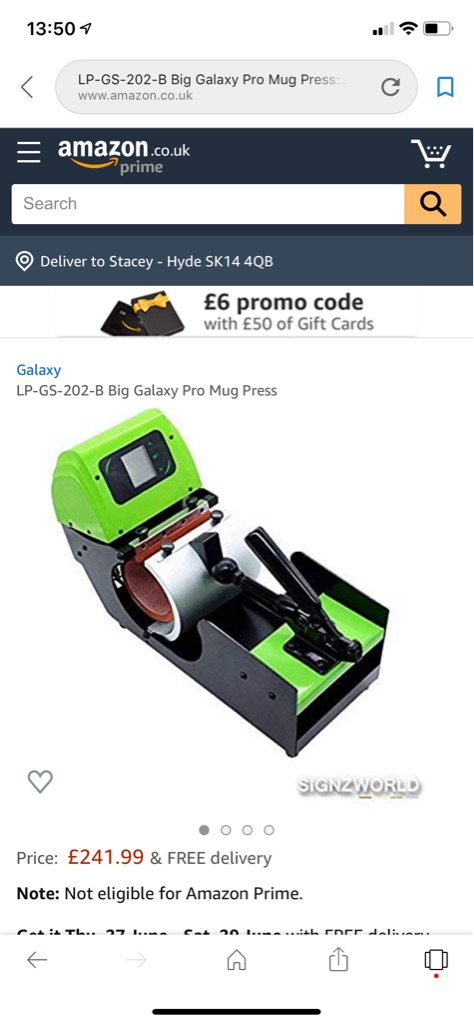 Galaxy Pro GC-202 Mug Press