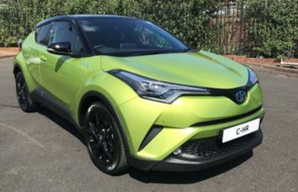 Toyota CRV 2019 hybrid petrol