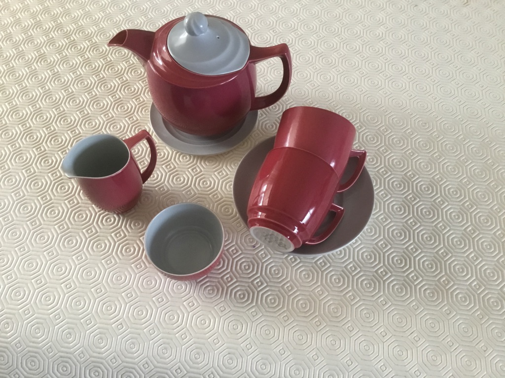 Tea for Two. BRANKSOME CHINA