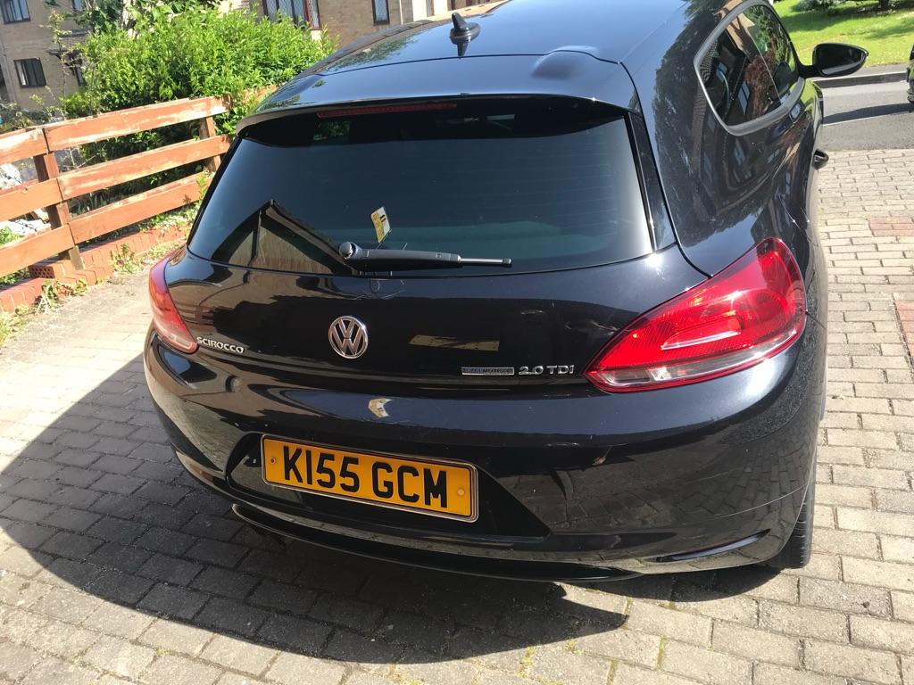 Volkswagen scirocco 62plate