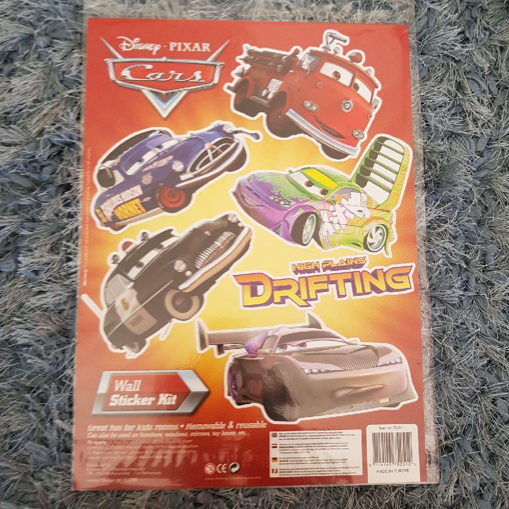 Brand new disney cars wall stickers