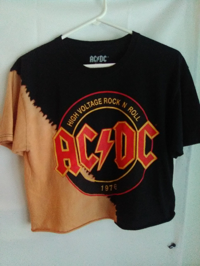 ACDC Crop Top